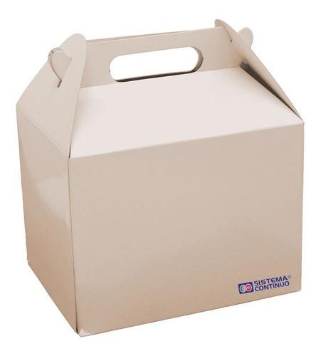 cajita feliz para sublimar de carton pack 20 unidades