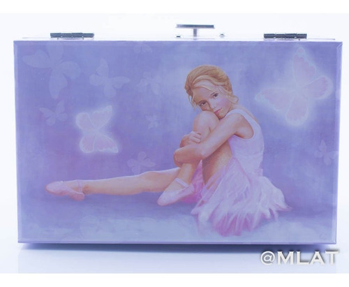 cajita musical bailarina infantil alhajero  princesa !!!