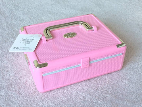 cajita musical maletin rosa incluye bailarina