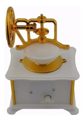 cajita musical molino de cafe. milinillo. ideal regalo !!