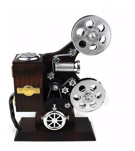 cajita musical proyector, cine, regalo, caja de musica !!!