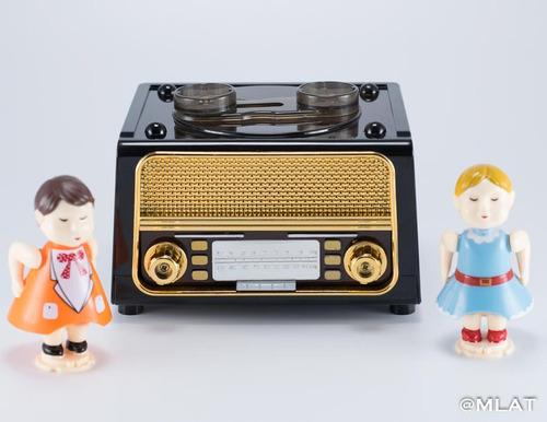 cajita musical radio beso de san valentin. regalo !! amor !!