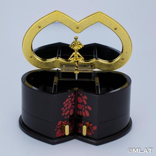 cajita musical tipo oriental ! alhajero ideal regalo japón.