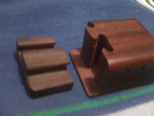 cajita rompecabezas de madera