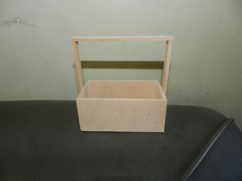 cajitas de fibrofacil rectangulares