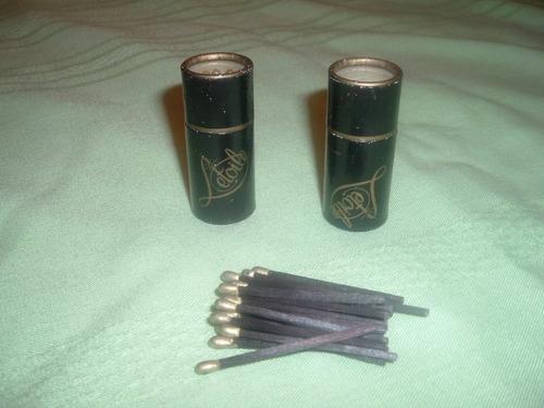 cajitas de fosforo letoile (dos,coleccionistas)