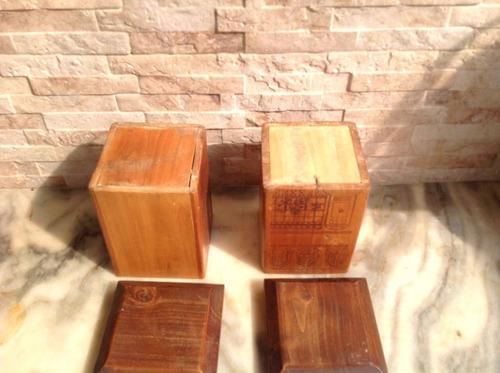 cajitas de madera