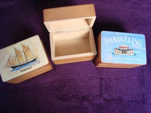 cajitas de madera artesanales alhajero cosmeticos