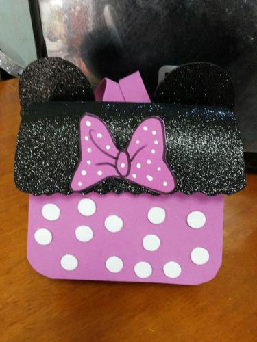 cajitas, mochilas y carteritas para fiestas