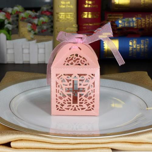 cajitas p dulces de recuerdo boda bautizo primera comunion