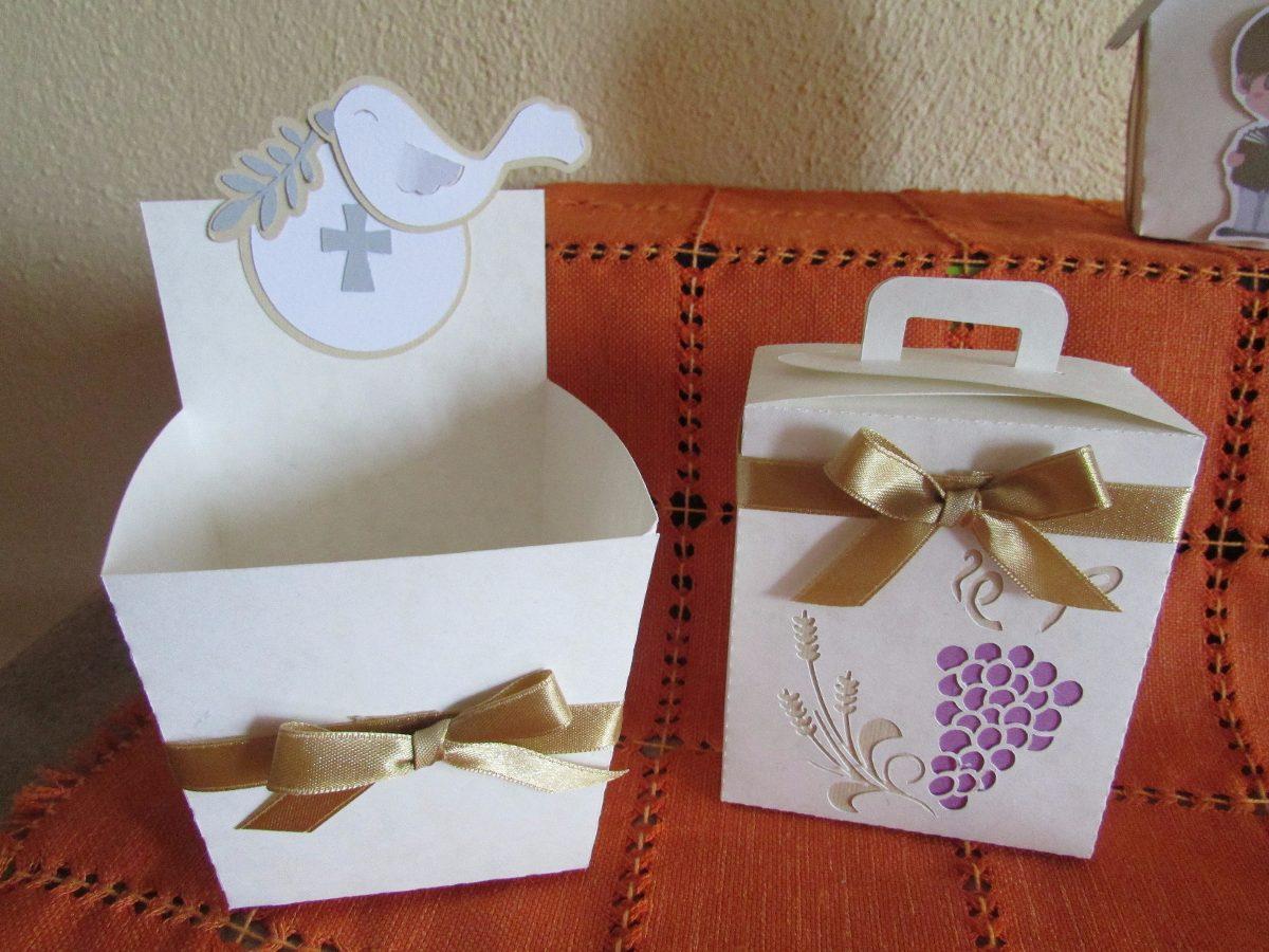 Cajitas para mesas de dulces primera comunion 70 piezas - Ideas para mesas dulces de comunion ...