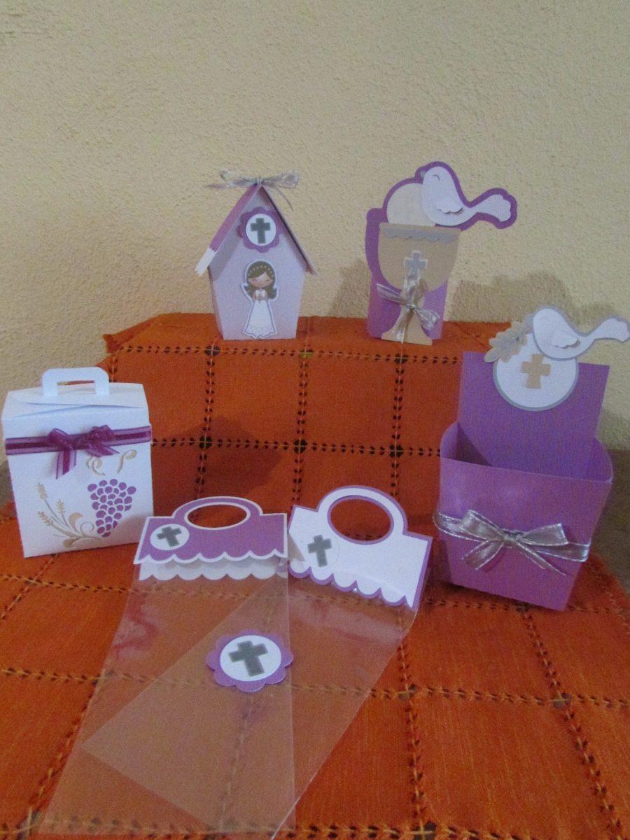 Cajitas para mesas de dulces primera comunion 70 piezas for Mesa dulce para comunion