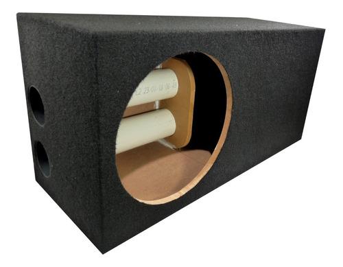 cajon 12 porteado subwoofer 1.75 pies cubicos ventilado 38hz