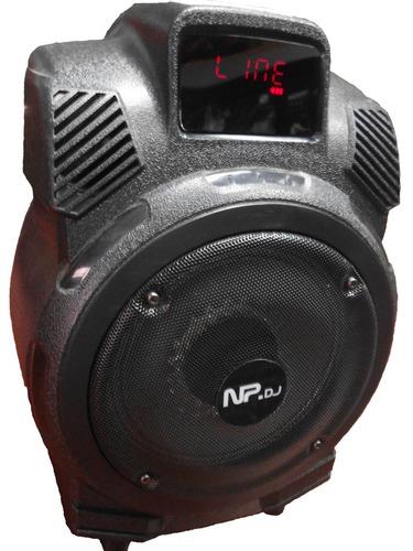 cajon amplificado 2000 watts y recargable 110 y 12v original