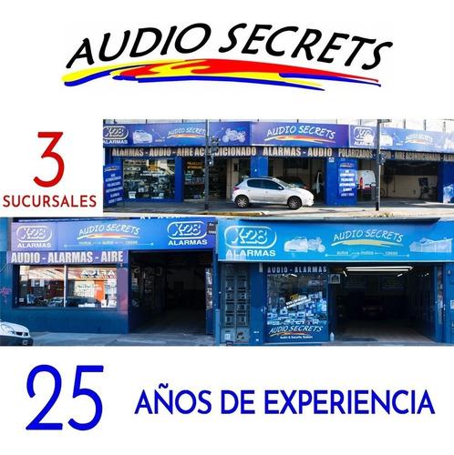 cajón amplificado alpine 10'' pwa-s10v audio secrets