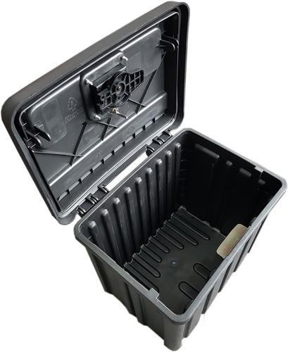 cajon baul plastico herramientas bepo con llave p/ camioneta