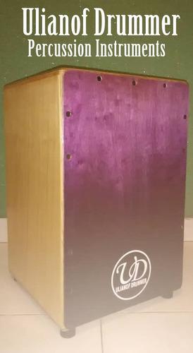 cajon caja flamenca nueva+maraca de dedo obsequio promocion