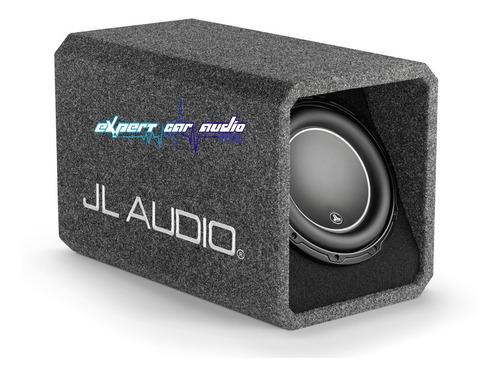 cajon con subwoofer jl audio ho110-w6v3 10 pulgadas 600w