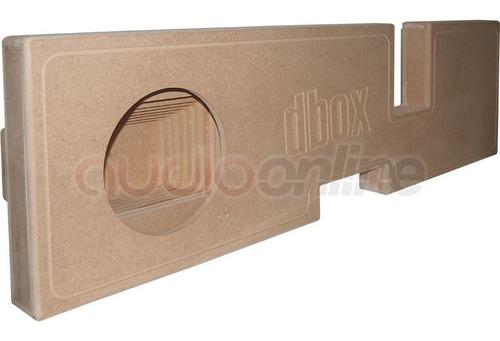 cajon dbox ram full 1x10 para woofer dodge ram 03-2013