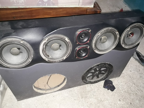 cajon de sonido para carro
