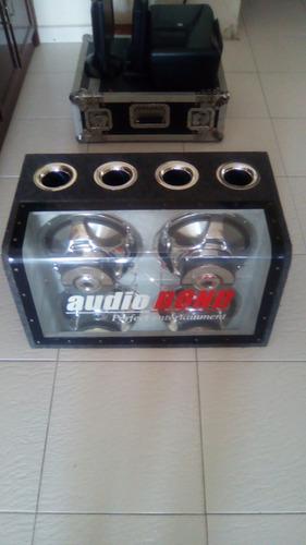 cajón de sonido para carro