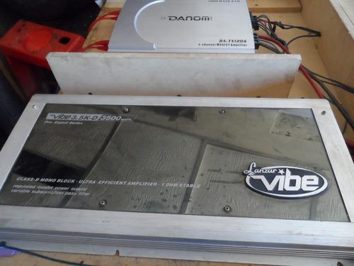 cajón de sonido para vehículo con componentes