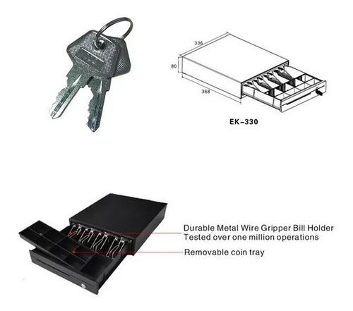 cajon dinero para caja registradora metalico  - ek-330