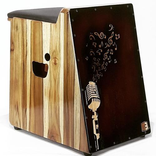 cajón elétrico modelo teka custom  feito por luthier