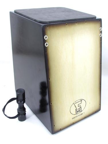 cajon elétrico personalizado 2 tampos f.m +brindes-mod. leve