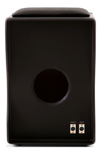 cajón eletroacústico inclinado | bag case | 02 vassourinhas