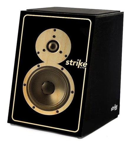 cajon eletroacústico soundbox strike series fsa sk-5011