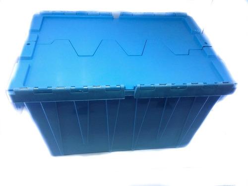 cajon logistico delivery alimentos de plastico virgen 70 lt