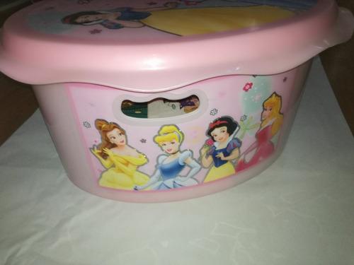 cajon - organizador guarda zapatos juguetes princesas