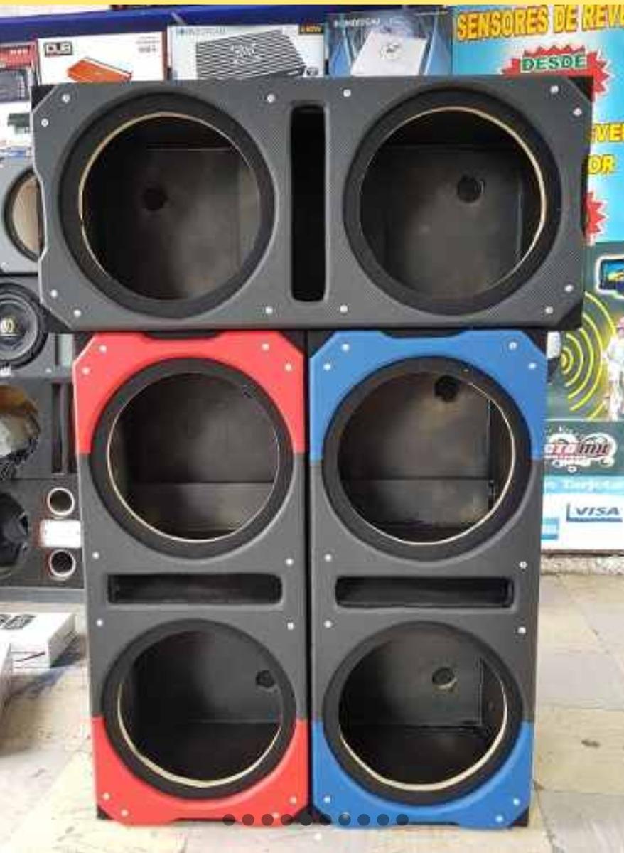 Caj n para 2 subwoofer kicker cvr 12 doble bobina especial 1 en mercado libre - Cajon para subwoofer ...