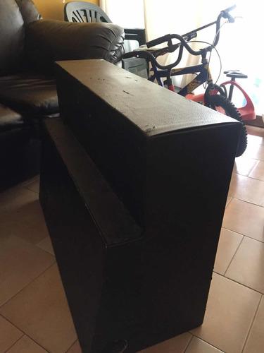 cajón para sonido