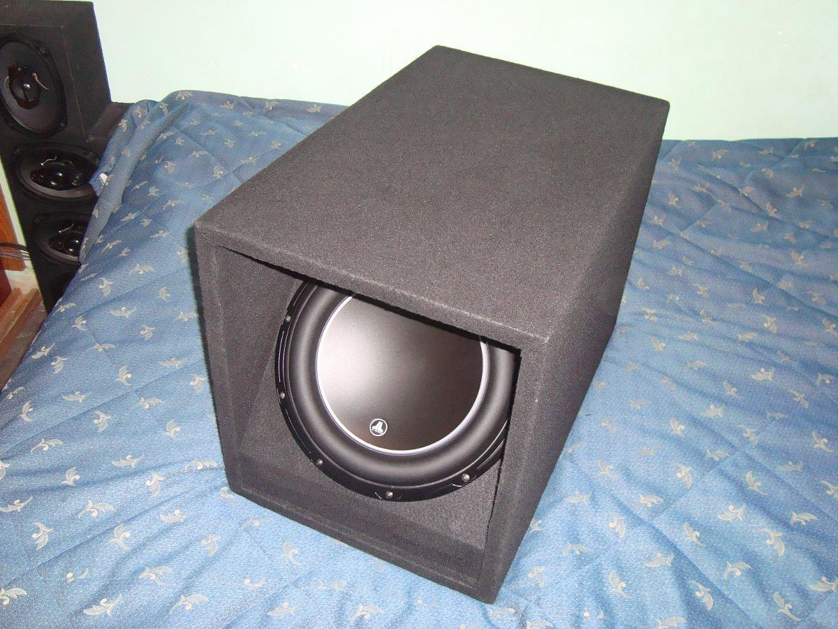 Cajon para subwoofer 12 jl audio pioneer mtx sony alpine 1 en mercado libre - Cajon para subwoofer ...