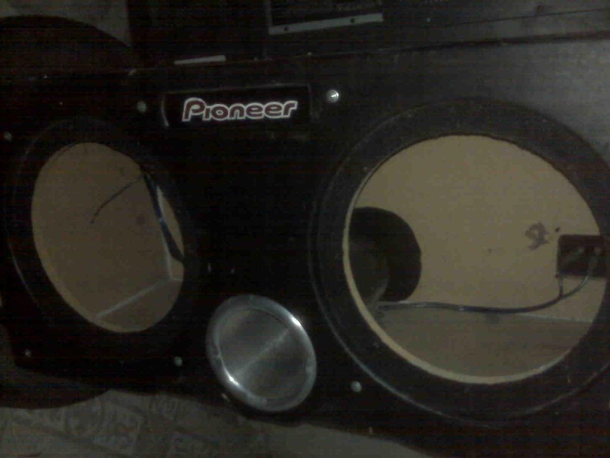 Cajon para woofers 12 pioneer en mercado libre - Cajon para subwoofer ...