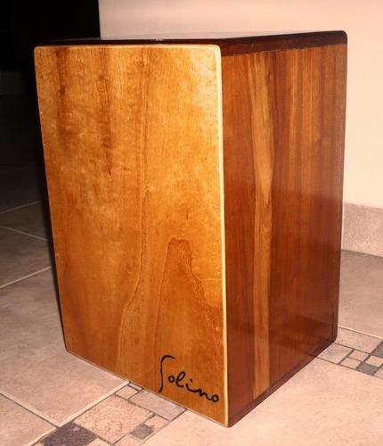 cajón peruano de cedro profesional- envío gratis !!!