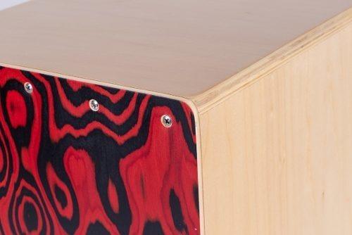 cajón peruano flamenco a cuerdas doble afinable parquer