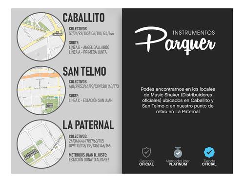 cajón peruano flamenco doble afinable con funda parquer