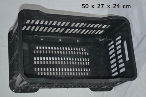 cajón plástico nuevo reforzado apilable alta resistencia
