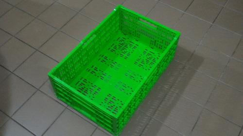cajon plegable plastico uso alimenticio nuevo