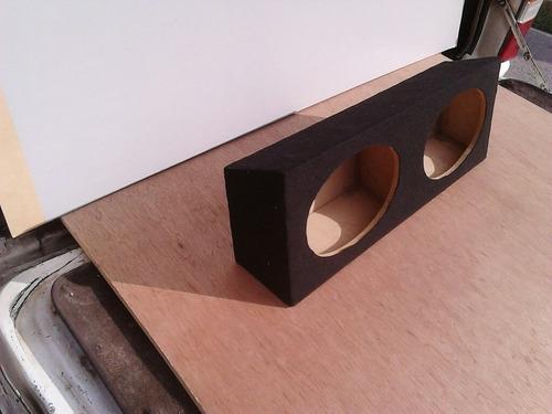 cajón triaxiales 6x9 tipo laberinto