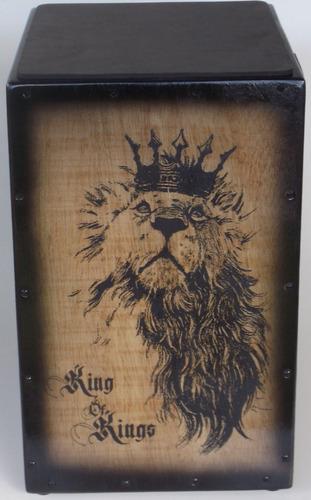 cajón/carron elétrico leão king + sleep + vassourinha.