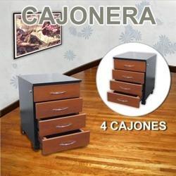 cajonera 4 cajones / escritorio archivo 008-quinn-100