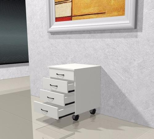 cajonera 4 cajones / escritorio / muebles