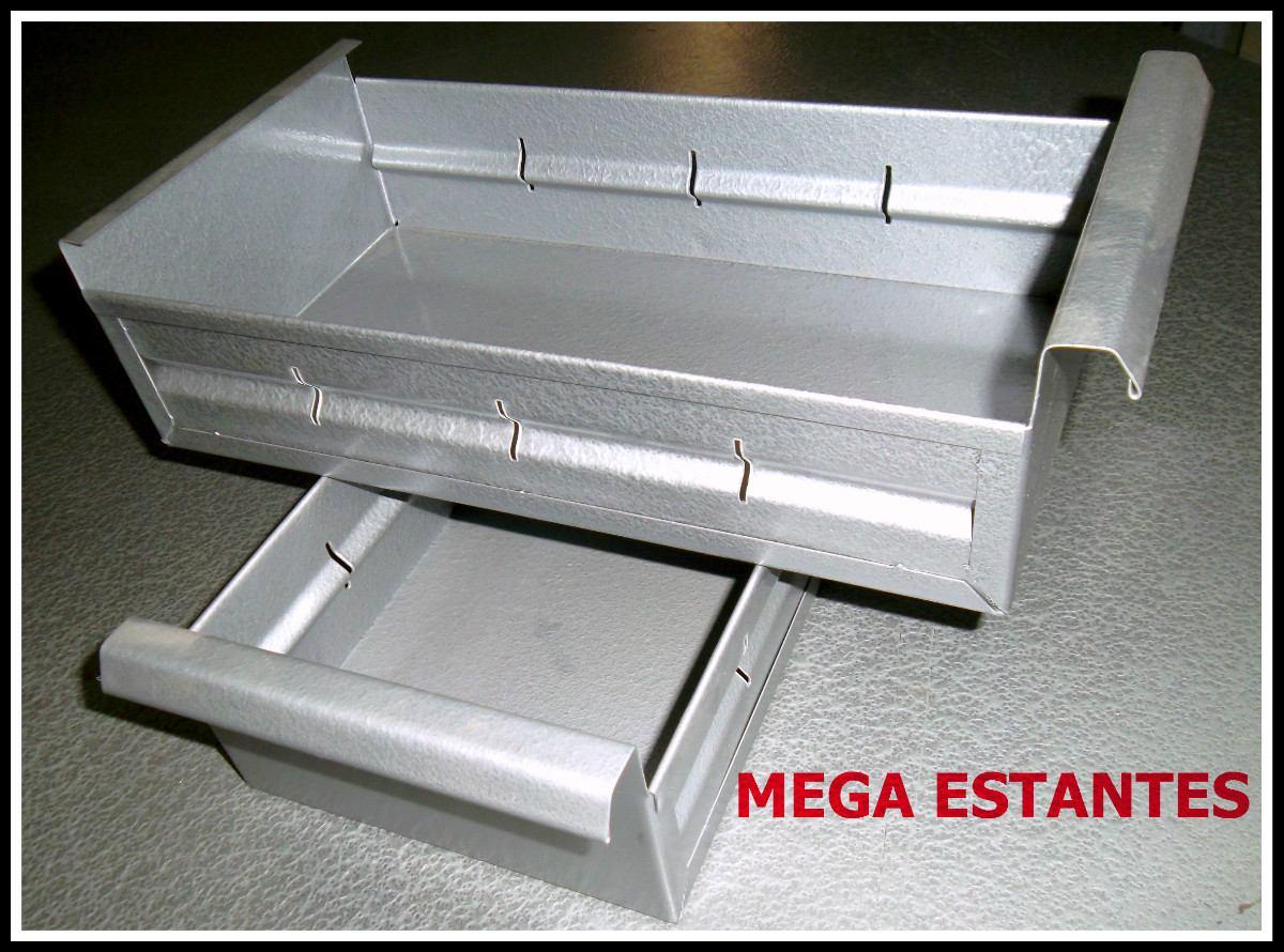 Cajonera 6 cajones gavetas metalicas anaquel estanteria - Cajones para estanterias ...