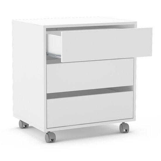 Cajonera auxiliar escritorio con ruedas oferta mobelstore - Cajonera para escritorio ...