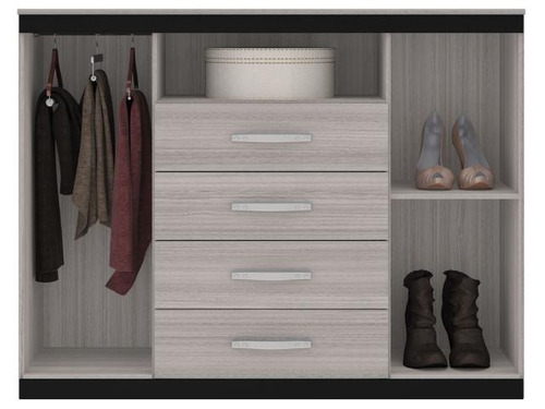 cajonera chifonier cómoda placar dormitorio moderno la font