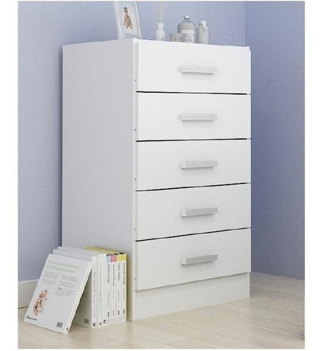 cajonera - comoda de 5 cajones oferta mueble dormitorio mweb
